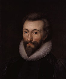John Donne (by Isaac Oliver)